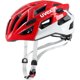 UVEX Race 7 Helm red/white